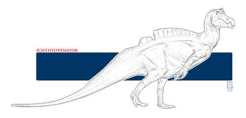 Ichthyovenator Sketch by Smnt2000