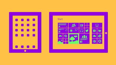 iPad vs Surface by davidvkimball