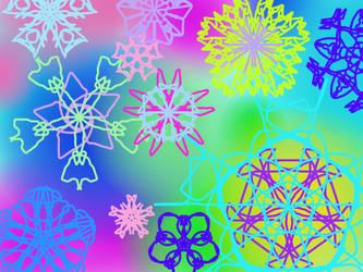 Summer's Snowflakes by PoppyseedMuffiin