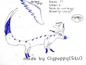 New Character by PoppyseedMuffiin