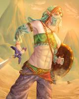 Gerudo Link by Papaya-Whip