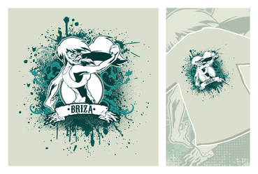 Briza T-Shirt by DarkNova666