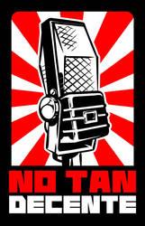 No Tan Decente Logo by DarkNova666