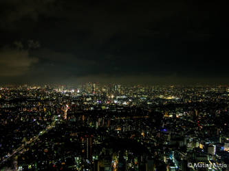 Tokyo by night by masteronion