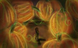 So many pumpkins by Friendlyfoxpal