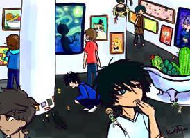 Art Muesum by Friendlyfoxpal