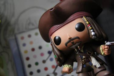 This is the tale of Captain Jack Sparrow by tiger-kat