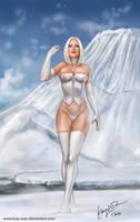 Emma Frost by Kay-Wan
