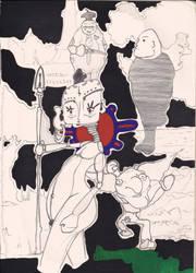 Sketch five by Shustar
