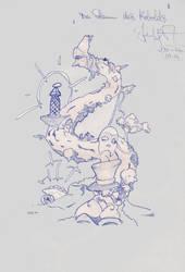 Sketch three by Shustar