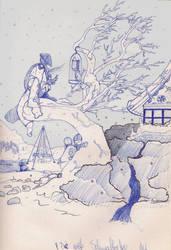 Sketch four by Shustar