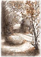 Entrance to the garden by zancan