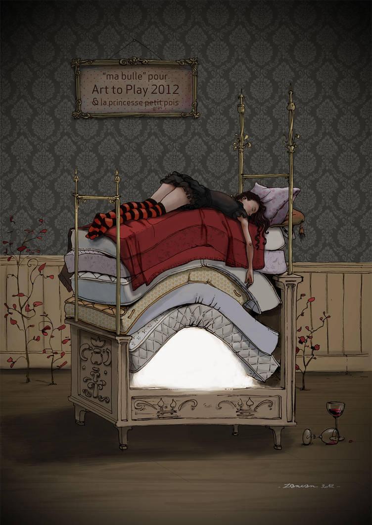 Princesse Petit Pois by zancan
