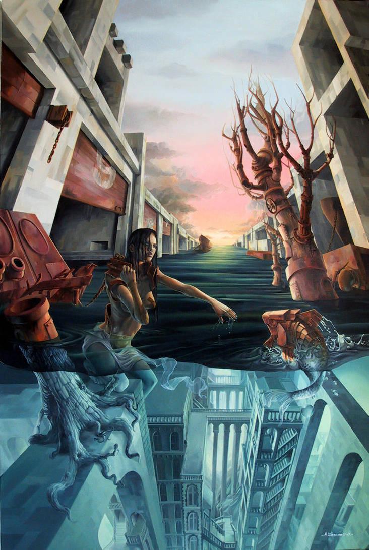 Below the Rust by zancan
