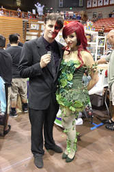 Poison Ivy and Two Face by AForEverHeart