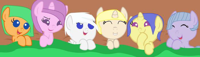 Baby ponies by IrdinaHaiza