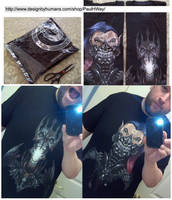 Got 2 more of my shirts, wanted to share! by WEXAL
