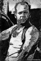 McClane - Bruce Willis by suicidecrew