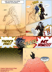 2009-02-14: WoW V-day Comic by hikari-chan