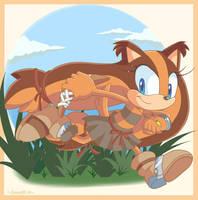 Sticks the Badger by Domestic-hedgehog
