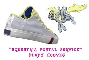 Derpy Hooves shoes by DoctorRedBird