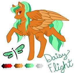 Daisy Flight by RousseReine
