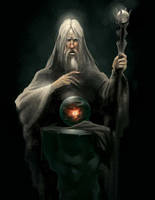 Saruman by malara-art
