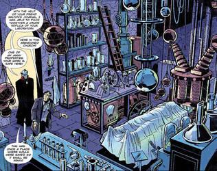 IVG Page 17, Frankenstein's Lab Reborn by malara-art