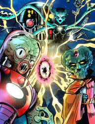 Alien Monster Crew by malara-art
