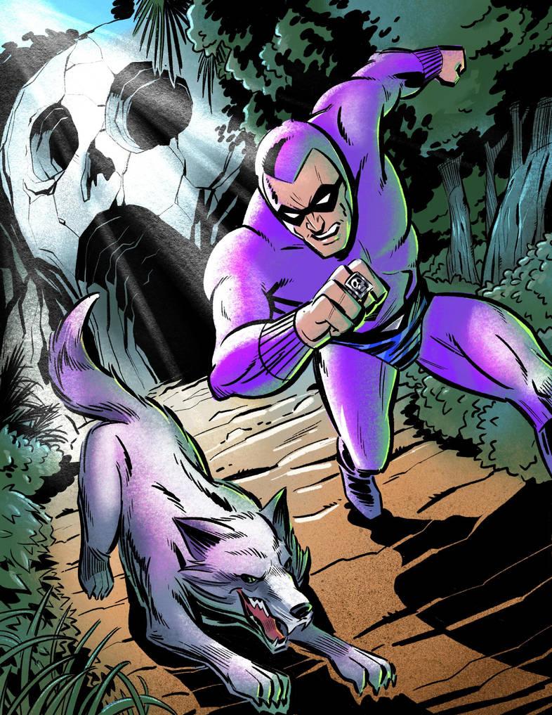 The Phantom and Devil by malara-art