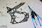 Assassins Creed 3 Tomahawk [Timelapse Art] by ImportAutumn