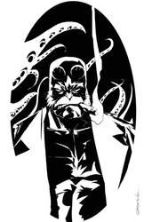 Hellboy by johnnymorbius