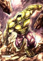 Hulk by johnnymorbius