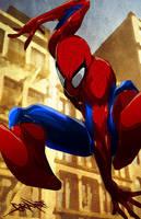 Spider-Man by johnnymorbius