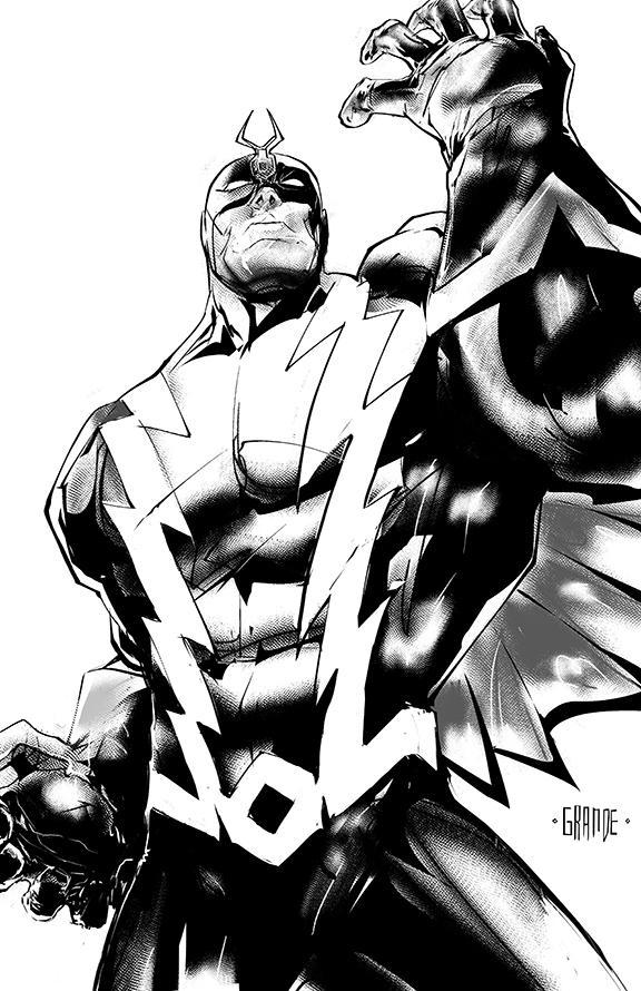 Black Bolt by johnnymorbius