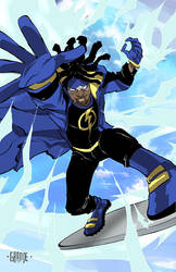 Static Shock by johnnymorbius