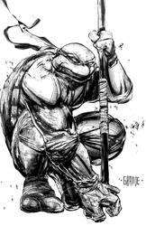 Donatello by johnnymorbius