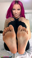 WWE Sasha Banks Feet by ProWrestlingFeet