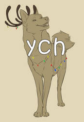 Ych canine deer OPEN by ElenPanter