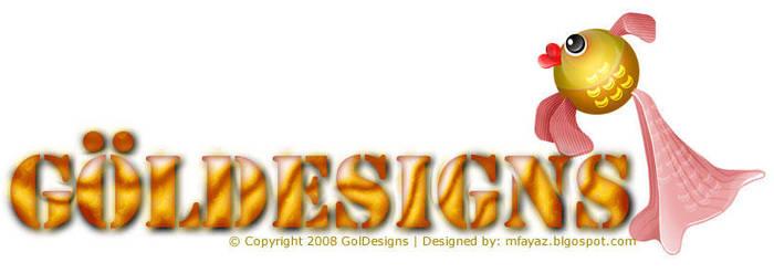 GOLDESIGN logo by mfayaz
