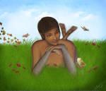 In my fantasy garden by mfayaz