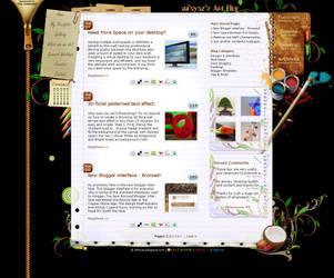 Digital Artists Web Portfolio by mfayaz