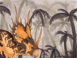 styracosaurus by Marker-Guru