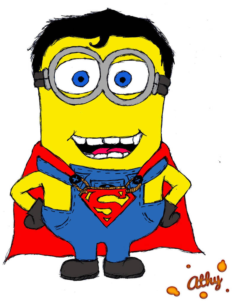 Super-Minion by AthyBall