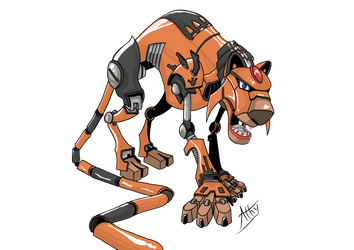 CyberTigre Final by AthyBall