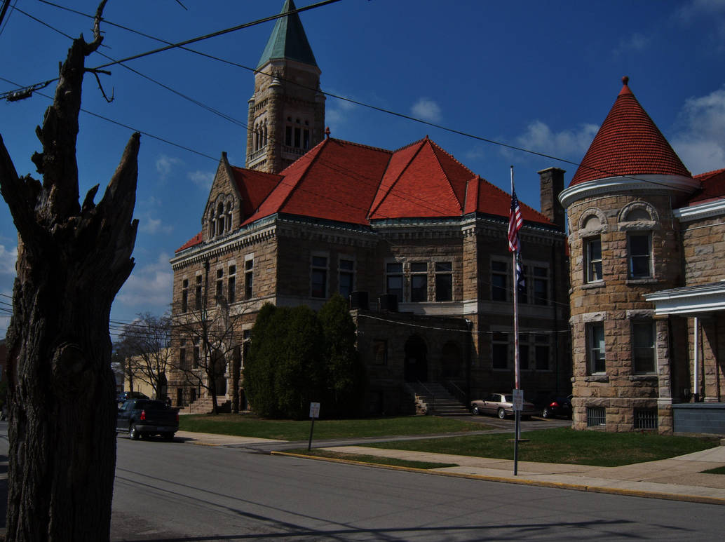 Randolph County Courthouse and Jail by Matthew-Beziat on DeviantArt