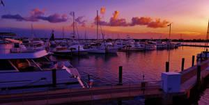 Stuart Marina Sunset 2016 by Matthew-Beziat