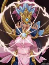 Order Of The Lotus Karma by TarnexART