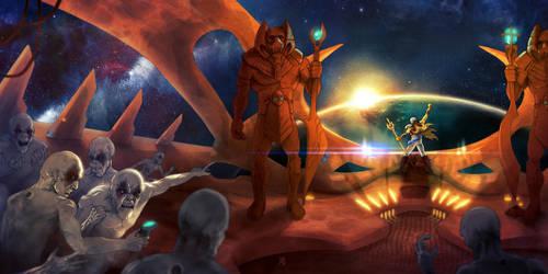 INVASZION - Alien Metal cover by FAB-dark