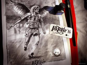01 Fast - #Inktober2016 by FAB-dark